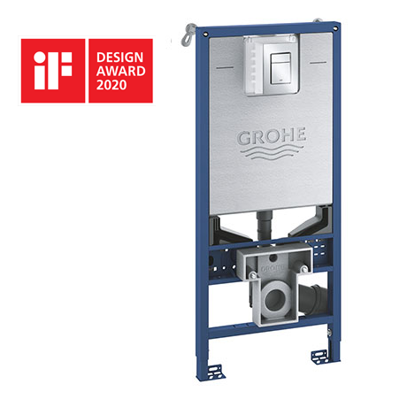 Grohe Rapid SLX 1.13m 3-in-1 Set Support Frame for Wall Hung WC - 39603000