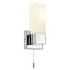 Endon Square Wall Light with Pull Switch - 39627 profile small image view 1