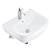 Grohe Euro Ceramic 600mm Complete Basin Package (Cosmo Smart Tap + Waste Included) profile small image view 1