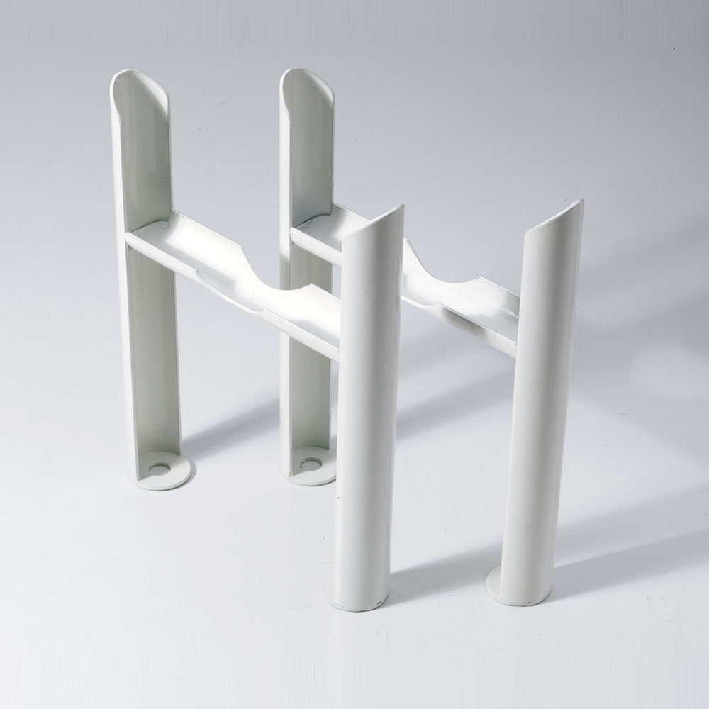 Keswick White 3 Column Radiator Feet