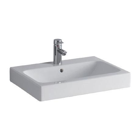 Twyford 3D 600mm 1TH Washbasin