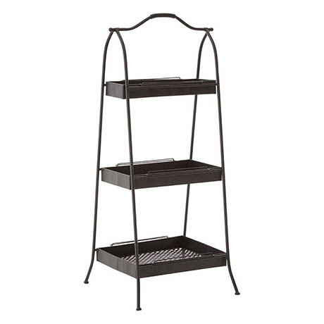 3-Shelf Freestanding Storage Rack