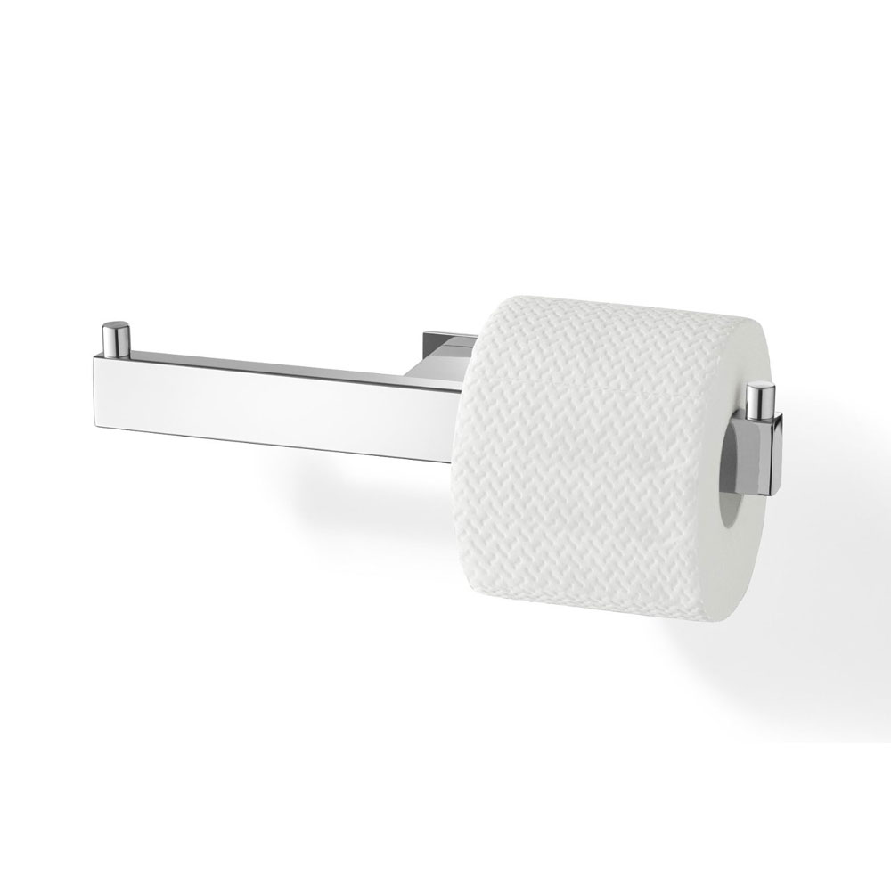 Zack Linea Double Toilet Roll Holder - Polished Finish - 40022 Profile Large Image