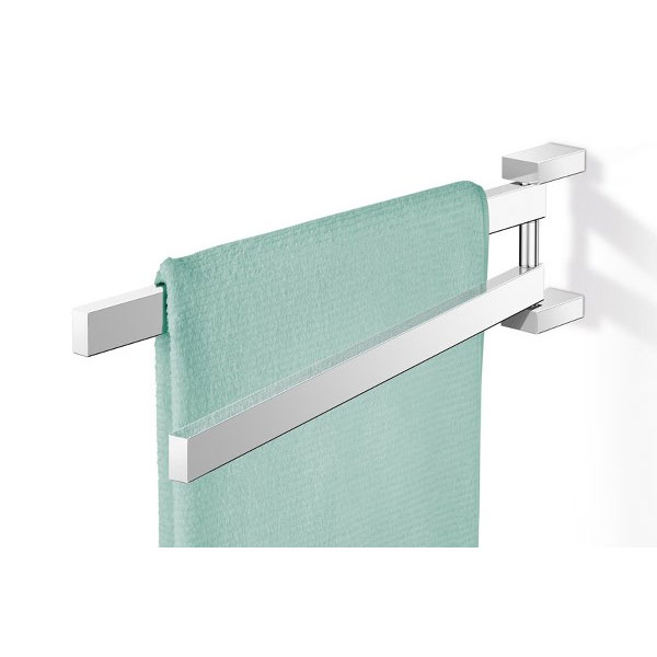 Zack Linea Swivelling Towel Holder - Polished Finish - 40025 Large Image