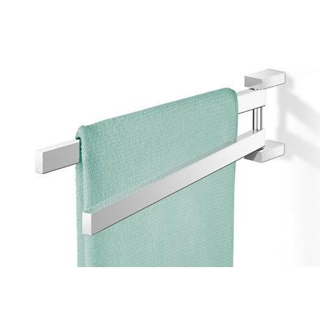 Zack Linea Swivelling Towel Holder - Polished Finish - 40025