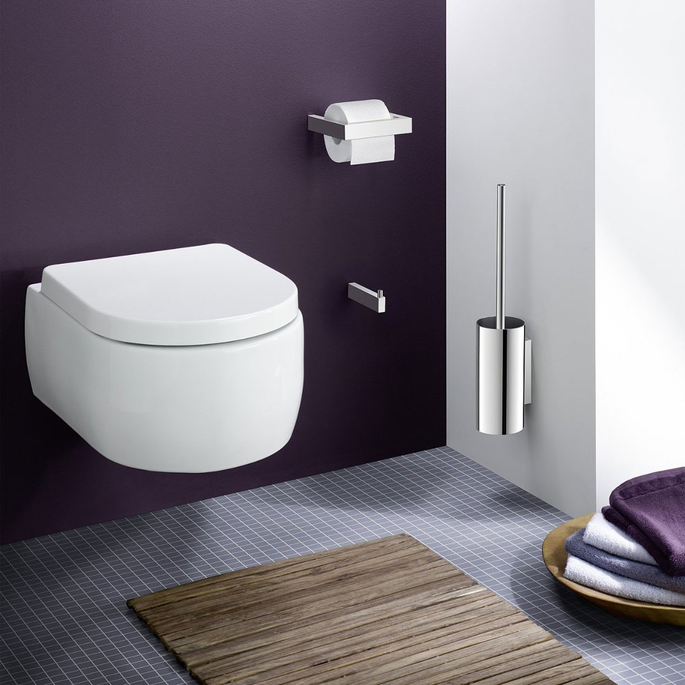 Zack Linea Wall Mounted Toilet Brush Now At Victorian