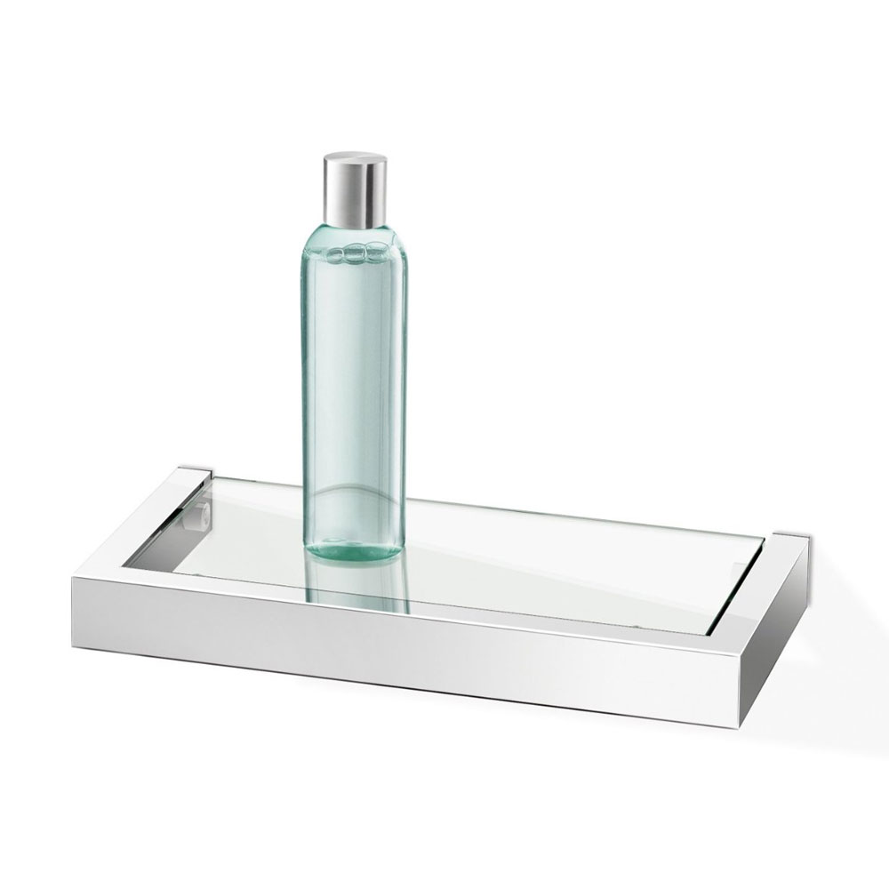 Zack Linea 26.5cm Bathroom Shelf - Polished Finish - 40028 profile large image view 1