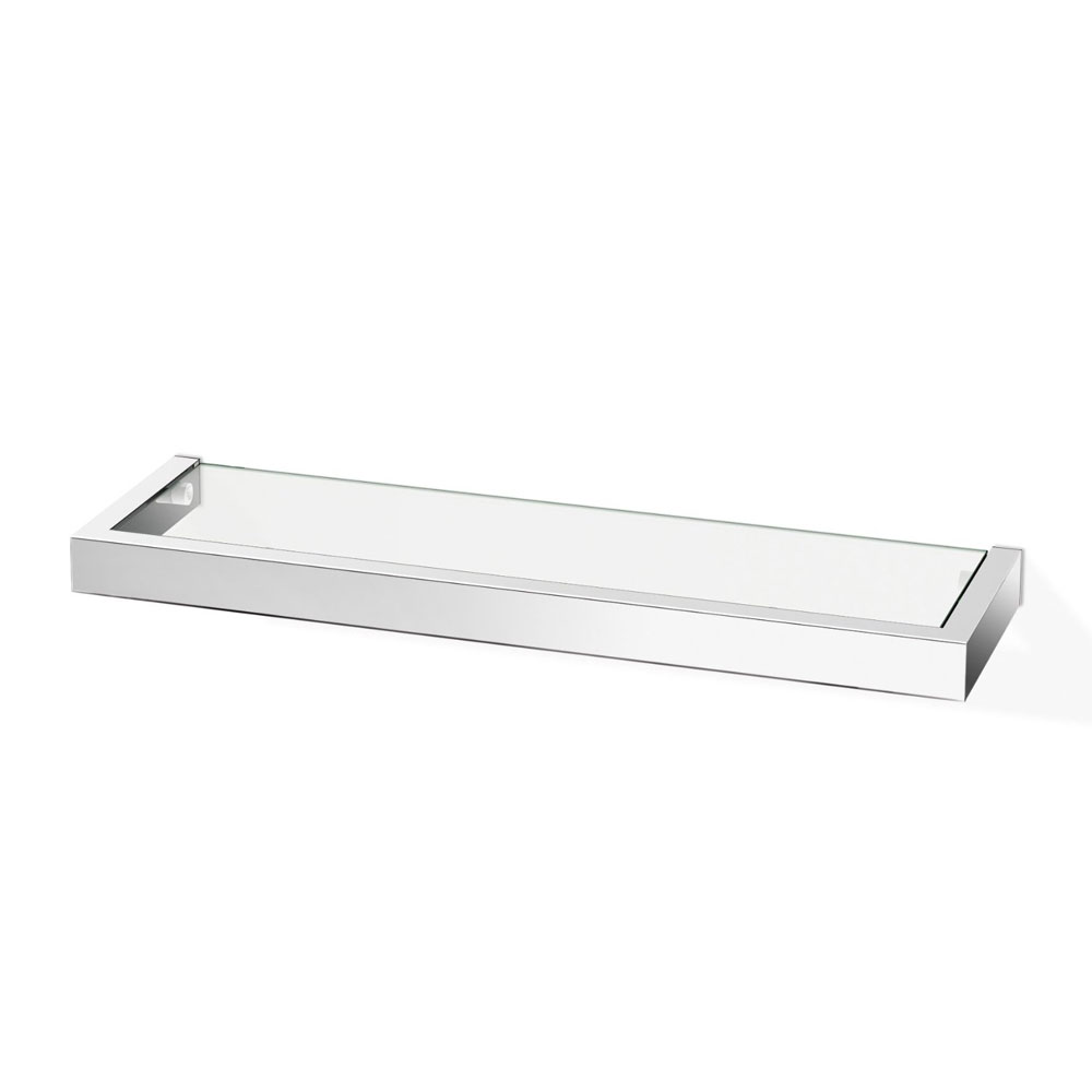 Zack Linea 45cm Bathroom Shelf - Polished Finish - 40029 profile large image view 2