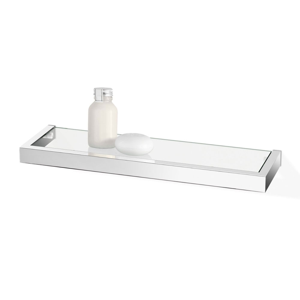 Zack Linea 45cm Bathroom Shelf - Polished Finish - 40029 profile large image view 1