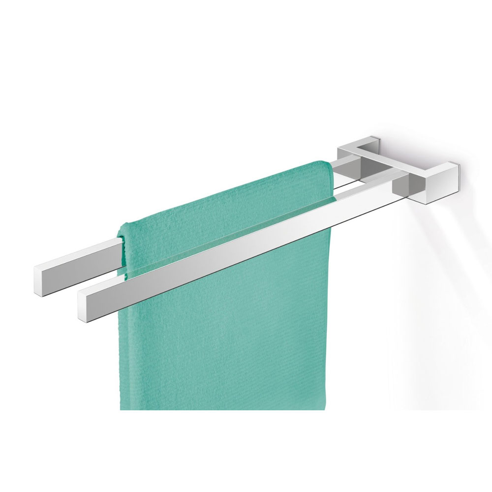 Zack Linea Towel Holder - Polished Finish - 40038 Large Image