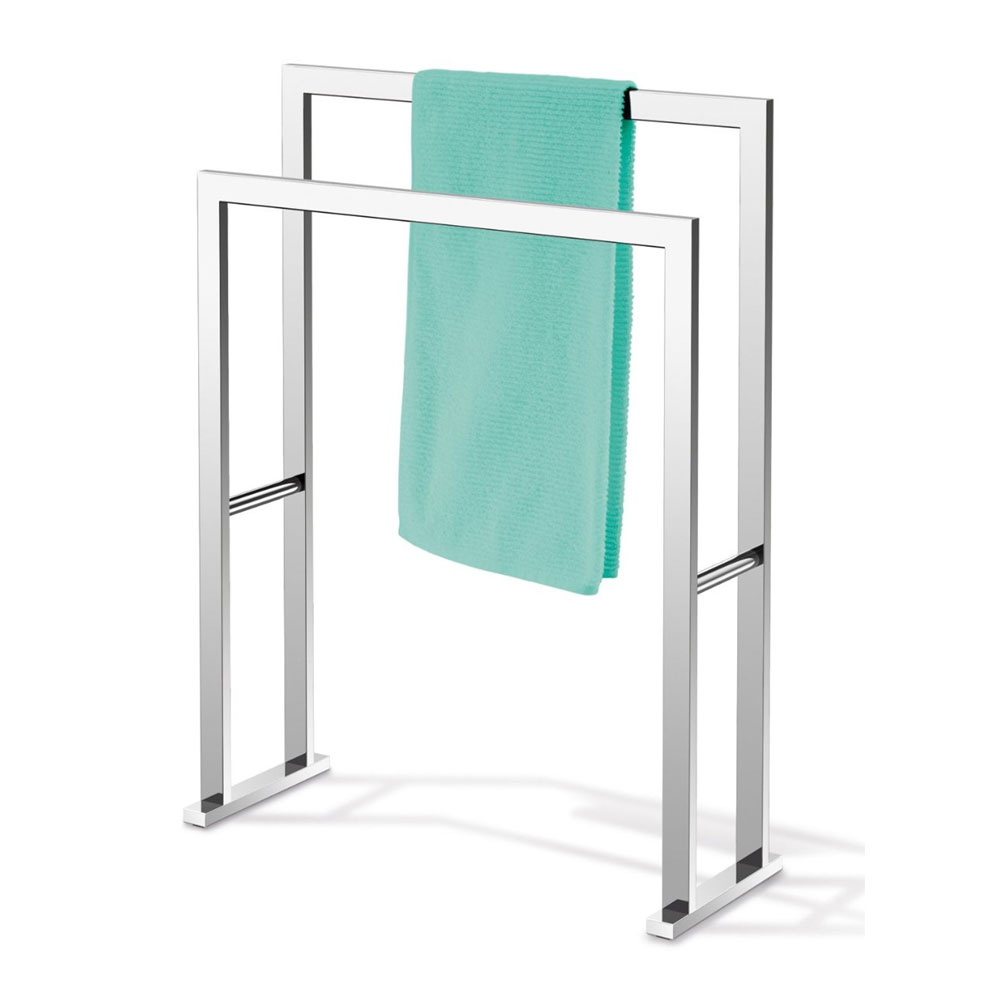 Zack Linea Towel Stand - Polished Finish - 40040 profile large image view 2