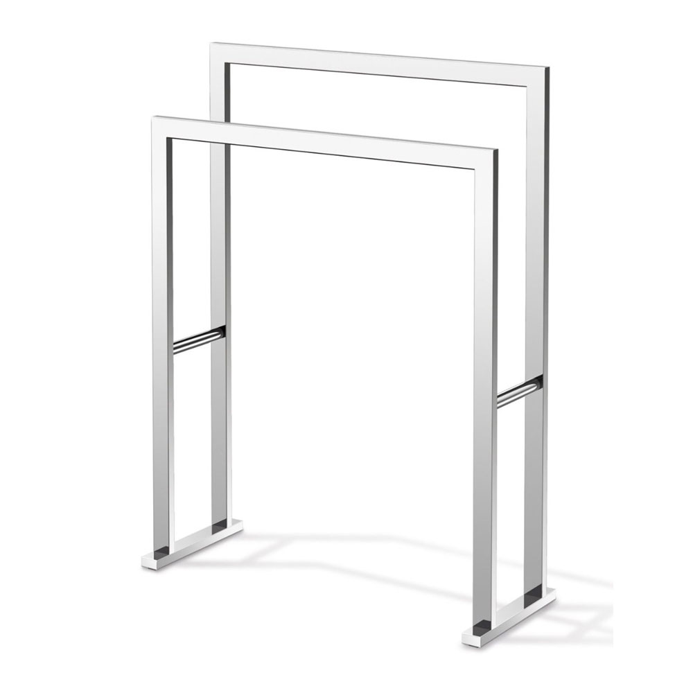 Zack Linea Towel Stand - Polished Finish - 40040 Large Image