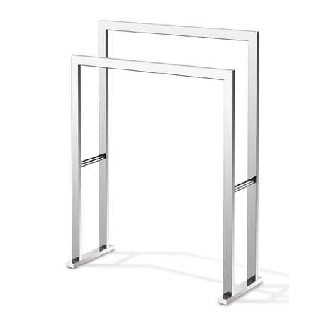 Zack Linea Towel Stand - Polished Finish - 40040