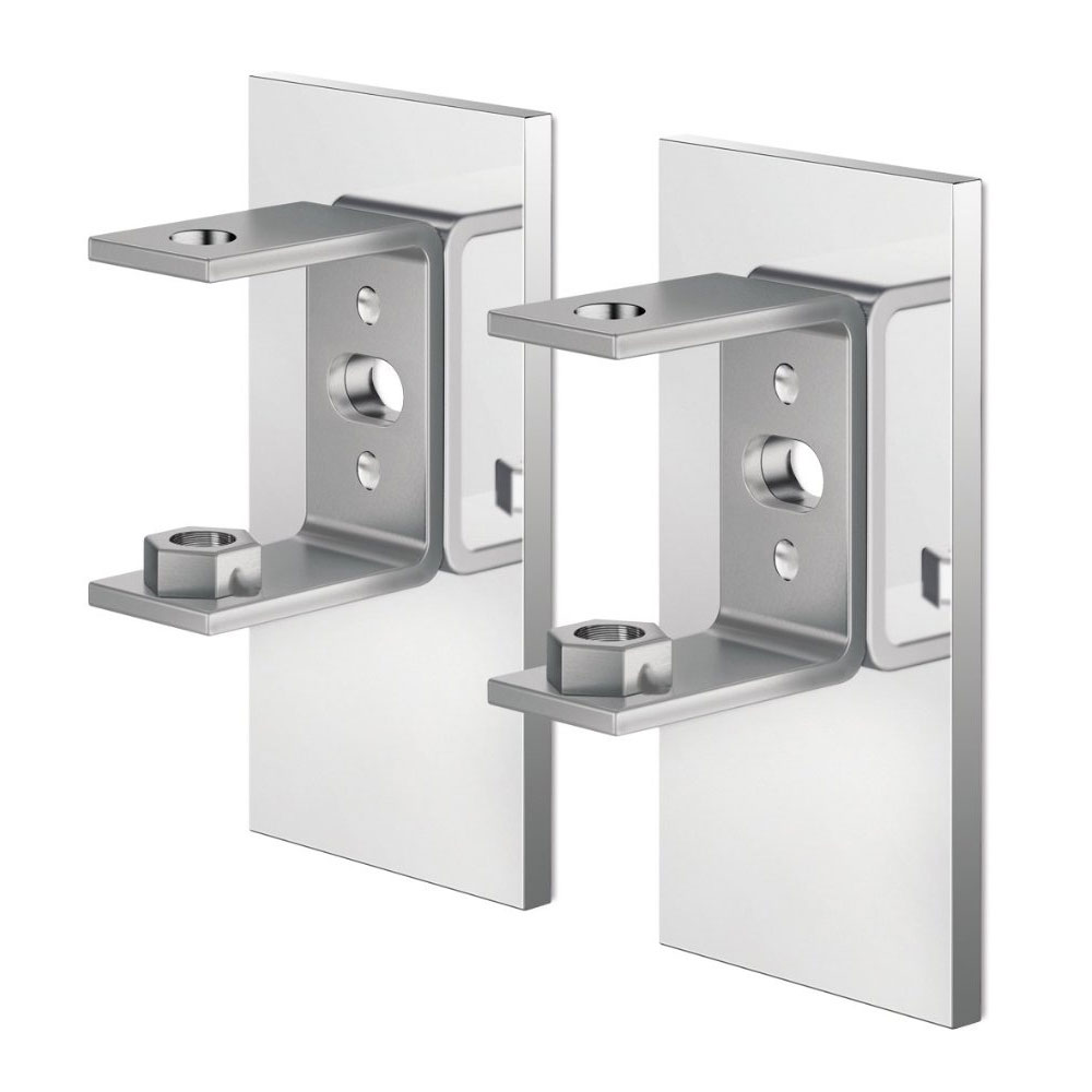 Zack Linea Wall Brackets with Adhesive Attachment - 40041 Large Image