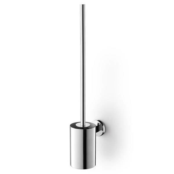 Zack Scala Stainless Steel Wall Mounted Toilet Brush + Mount Adhesive
