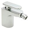 Tre Mercati - Coast Mono Bidet Mixer with Pop-up Waste - 40080B profile small image view 1
