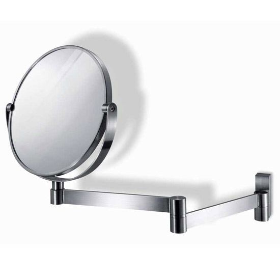 Zack Fresco Extendable Mirror - Stainless Steel - 40109 Large Image