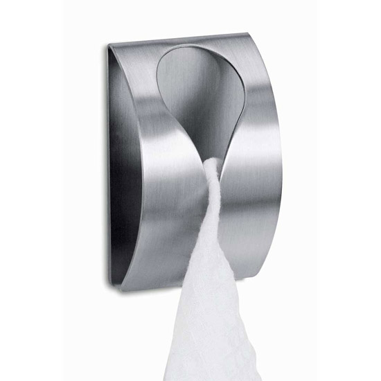 Zack Genio Towel Clip - Stainless Steel - 40121 Large Image