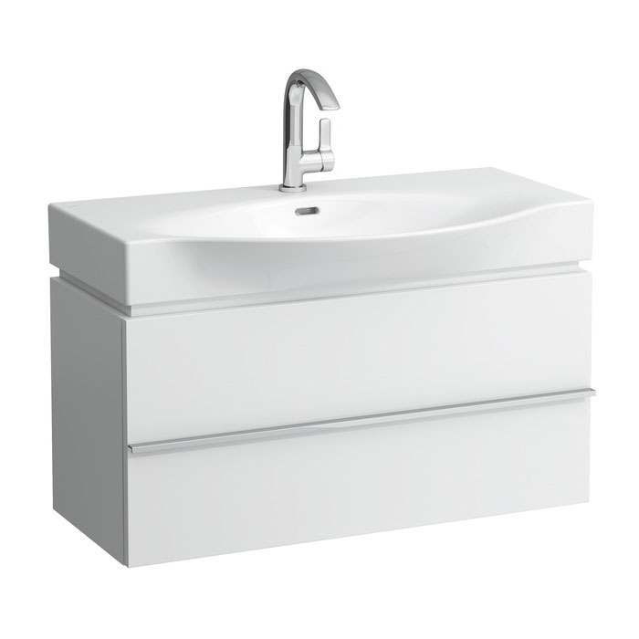 Laufen - Palace 900mm 2 Drawer Vanity Unit and Basin profile large image view 1
