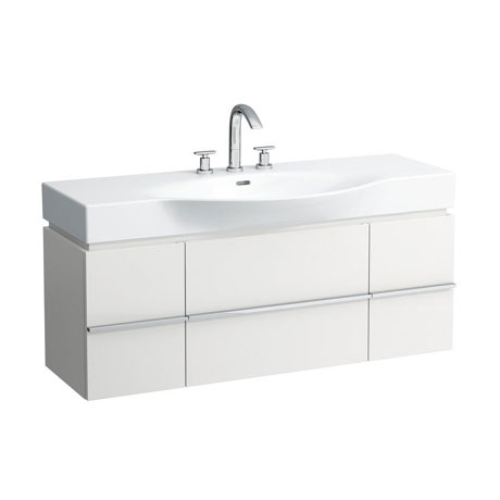 Laufen - Palace 1200mm Basin & Vanity Unit with 1 Drawer and 2 Doors