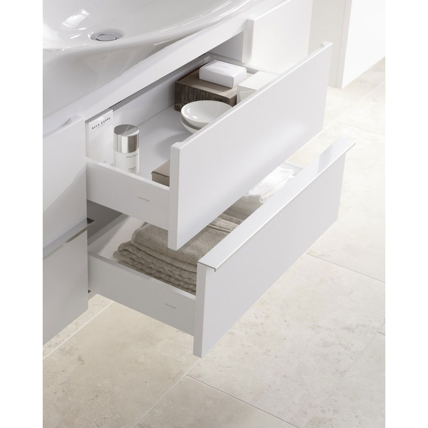 Laufen - Palace 1200mm Basin & Vanity Unit with 2 Drawers and 2 Doors Profile Large Image