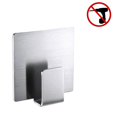 Zack Appeso Single Towel Hook - Stainless Steel - 40134
