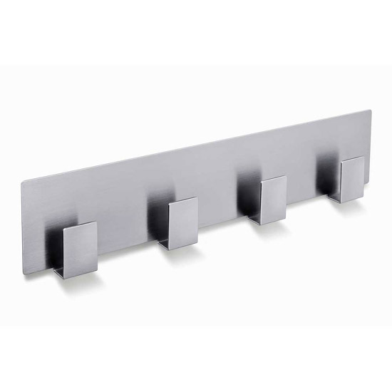 Zack Appeso Towel Hook Rail - Stainless Steel - 40143 Large Image