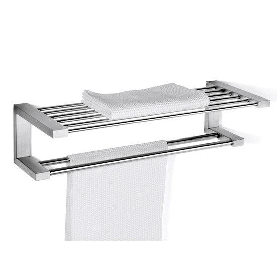 Zack Fresco Towel Shelf - Stainless Steel - 40145 Large Image