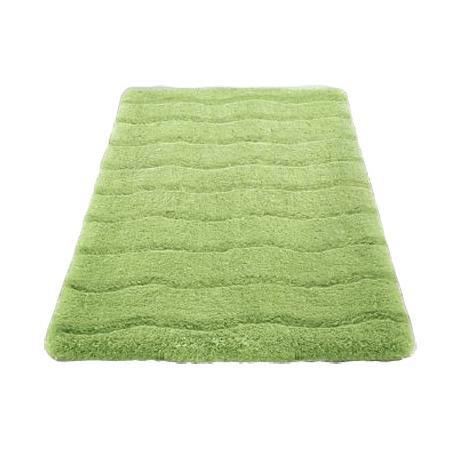 Kleine Wolke Medina Organic Cotton Bath Mat Green