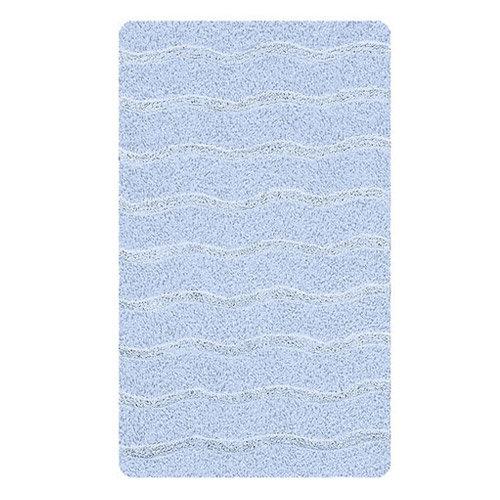 Kleine Wolke - Medina Organic Cotton Bath Mat - Light Blue - Various Size Options profile large image view 2