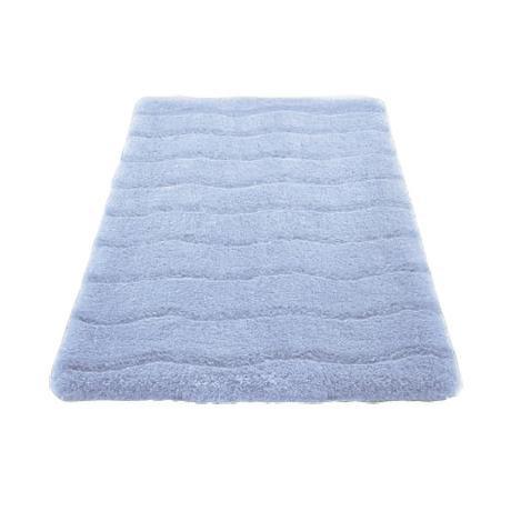 Kleine Wolke - Medina Organic Cotton Bath Mat - Light Blue - Various Size Options