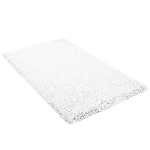 Kleine Wolke - Kansas Cotton Bath Mat - White - Various Size Options profile large image view 1