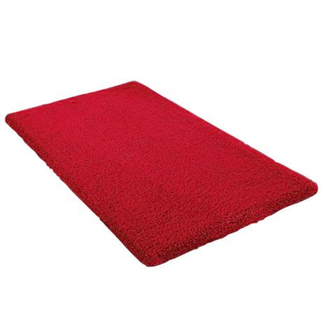 Kleine Wolke - Kansas Cotton Bath Mat - Ruby - Various Size Options