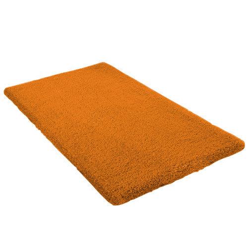 Kleine Wolke - Kansas Cotton Bath Mat - Orange - Various Size Options Large Image