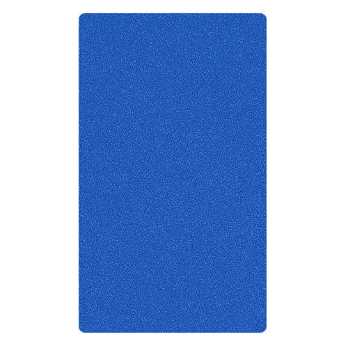 Kleine Wolke - Kansas Cotton Bath Mat - Blue - Various Size Options profile large image view 2