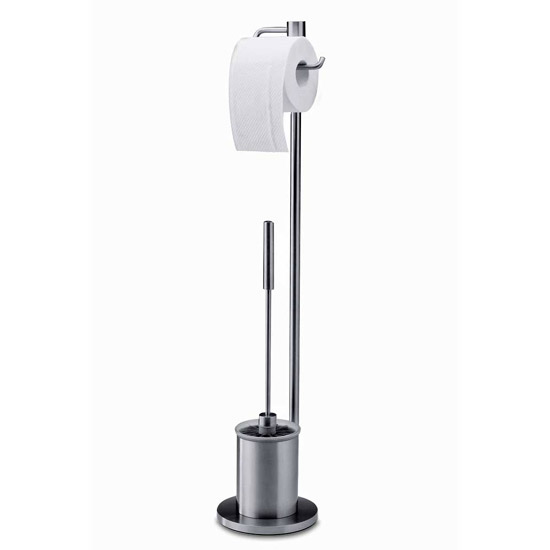 Zack Marino Toilet Butler - Stainless Steel - 40188 profile large image view 1