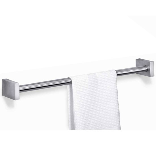 Zack Fresco Large Towel Rail - Stainless Steel - 40194 Large Image