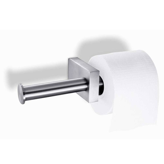 Zack Fresco Double Toilet Roll Holder - Stainless Steel - 40198 Large Image