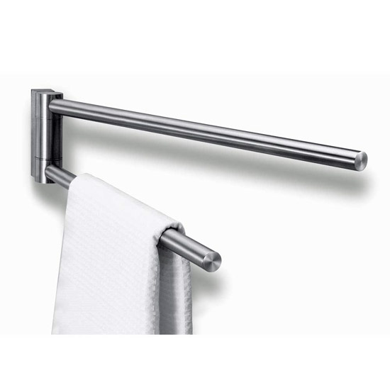 Zack Fresco Swivelling Towel Holder - Stainless Steel - 40199 Large Image