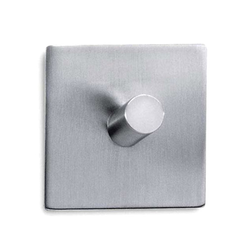 Zack Duplo Square Towel Hook - Stainless Steel - 40205 profile large image view 1