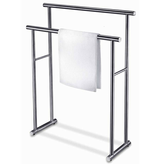 Zack Finio Towel Rack - Stainless Steel - 40245 Large Image