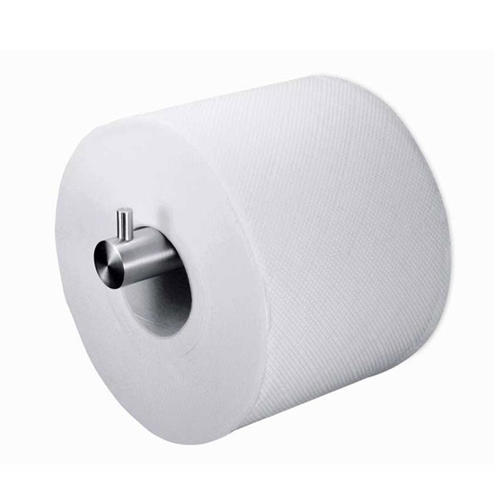 Zack Civio Spare Toilet Roll Holder - Stainless Steel - 40253 Large Image