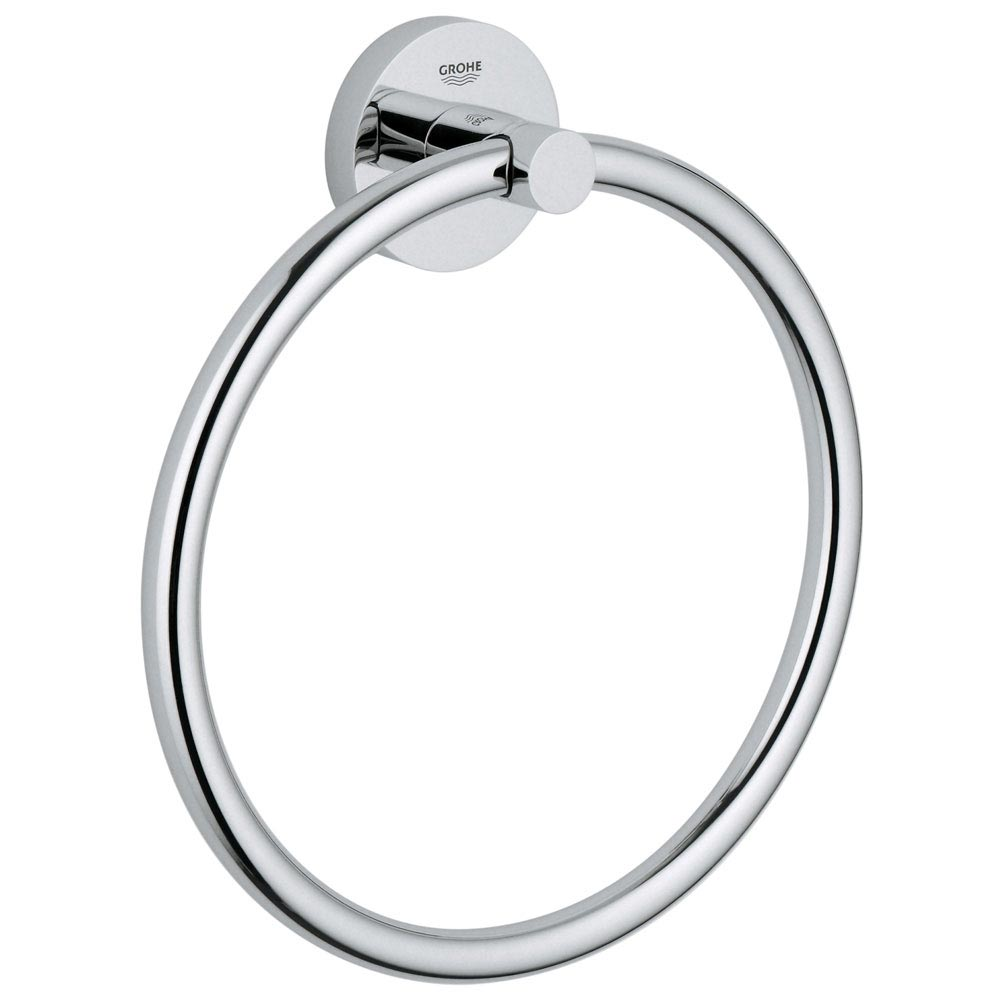 Grohe Essentials Towel Ring - 40365001 Large Image
