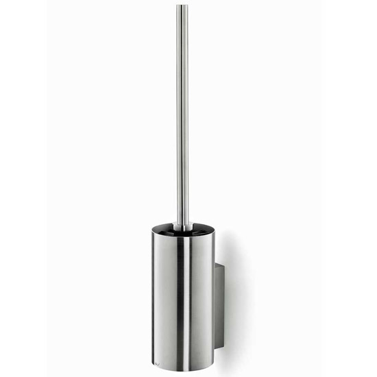 Zack Linea Wall Mounted Toilet Brush - Stainless Steel - 40381 Large Image