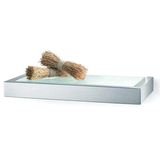 Zack Linea 26 5cm Bathroom Shelf 40383 At Victorian