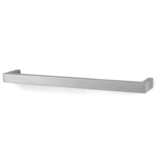Zack Linea 46.5cm Towel Rail - Stainless Steel - 40387 Large Image