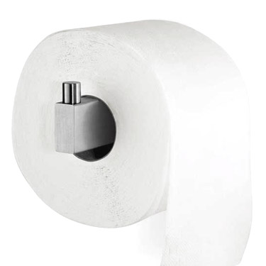 Zack Linea Spare Toiler Roll Holder - Stainless Steel - 40391 profile large image view 2
