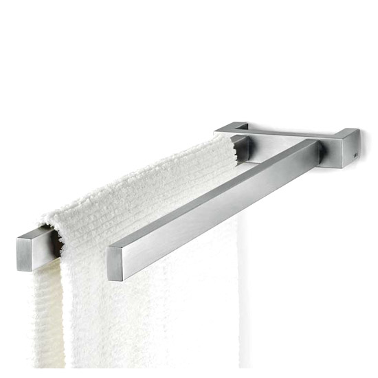 Zack Linea 45cm Towel Holder - Stainless Steel - 40392 Large Image