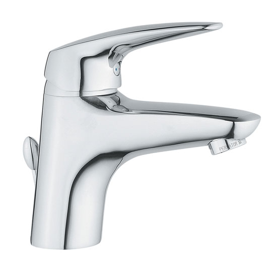 Vitra - Armix V3 Monobloc Basin Mixer with Pop-up Waste - Chrome - 40441 Large Image