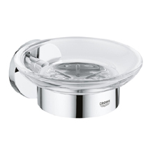 Grohe Essentials Soap Dish with Holder - 40444001 Medium Image